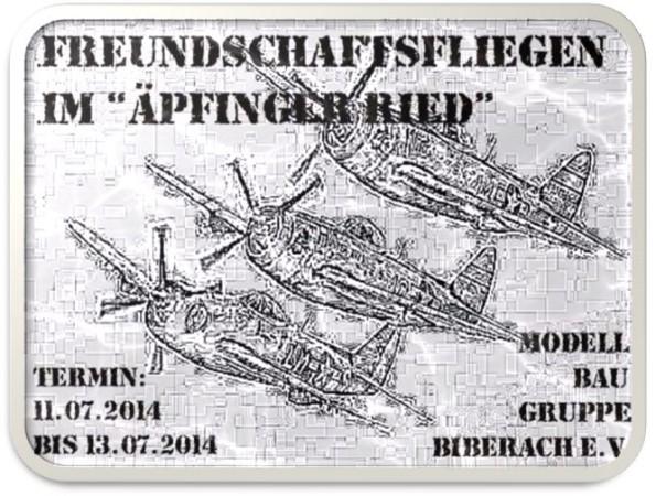 Freundschaftsfliegen Modellbaugruppe Biberach e.V. 2014