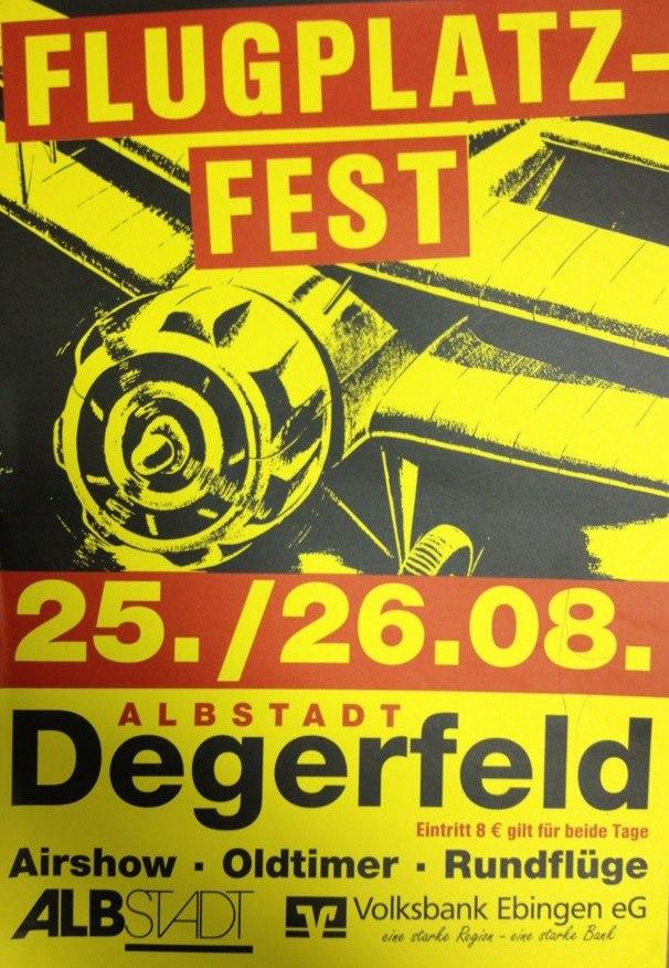 Flugplatzfest Degerfeld 12