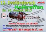 12. Dreiländereck Helitreffen 10.08.2013