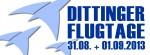 Dittinger Flugtage 31.08 – 01.09.2013