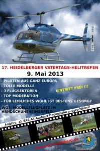 17. Heidelberger Vatertags-Helitreffen