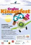 Flughafen Stuttgart: Großes Kinderfest 11.08.2013