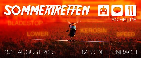 rc-heli.de Sommertreffen 2013