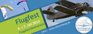 Großes Flugfest am 6. + 7. Juli in Malmsheim