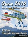 Fly-In und das Oldtimertreffen QUAX 2010 Kempten Durach 17.07. – 18.07.2010
