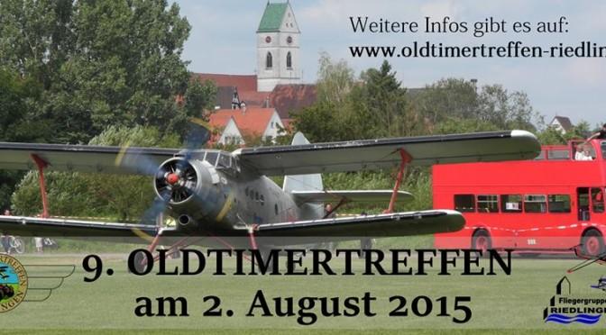 9. Oldtimertreffen Zu Lande und zur Luft Flugplatz Riedlingen 02.08.2015