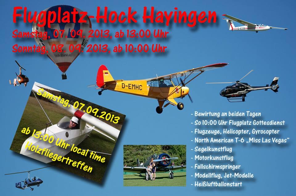 Hayinger Flugplatz-Hock