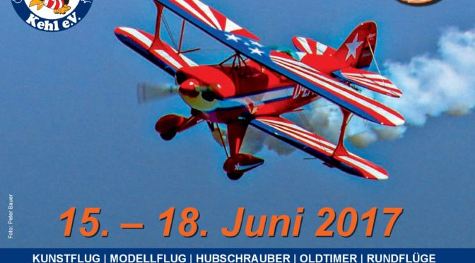 Kehler Flugtage 15.06. – 18.06.2017