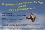 Doppeldecker und Oldtimertreffen MFG-Ochsenhausen e.V. 15.07.2012