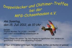 Doppeldecker und Oldtimertreffen MFG-Ochsenhausen 2012