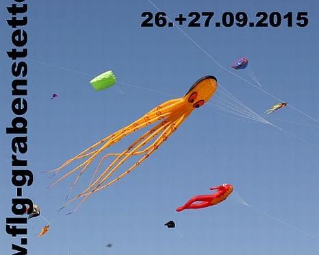 Drachenfest Fliegergruppe Grabenstetten-Teck-Lenninger Tal e.V.  26.09. – 27.09.2015
