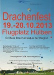 Drachenfest Fliegergruppe Hülben e.V. 19.10. – 20.10.2013