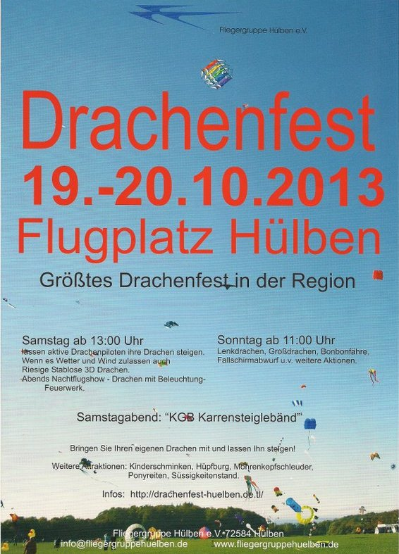 Drachenfest Hülben 2013