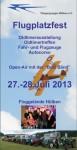Flugplatzfest mit Oldtimer - Treffen Fliegergruppe Hülben e.V. 2013
