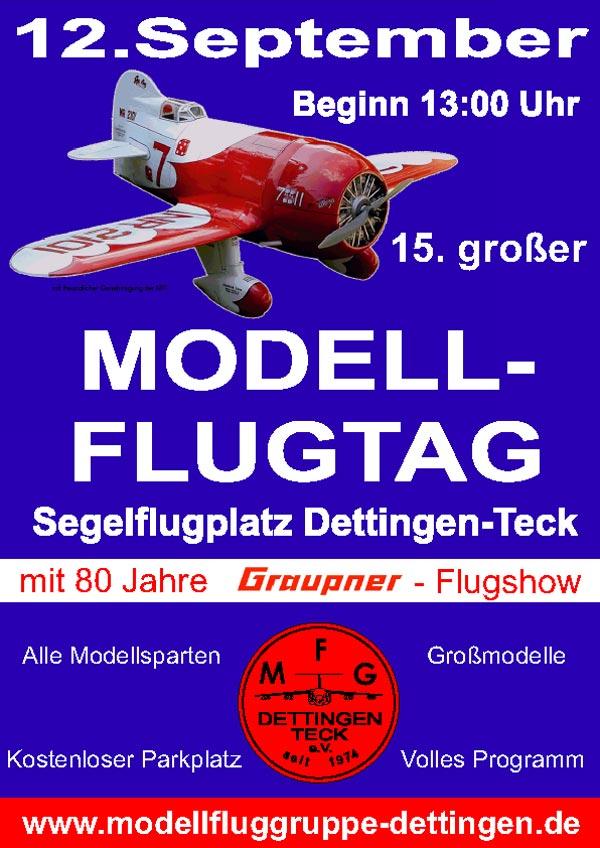 15. großer Modellflugtag Dettingen-Teck 12.09.2010