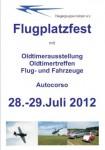Flugplatzfest mit Oldtimer – Treffen Fliegergruppe Hülben e.V. 28.07. – 29.07.2012
