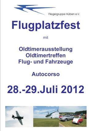 Flugplatzfest Hülben 2012