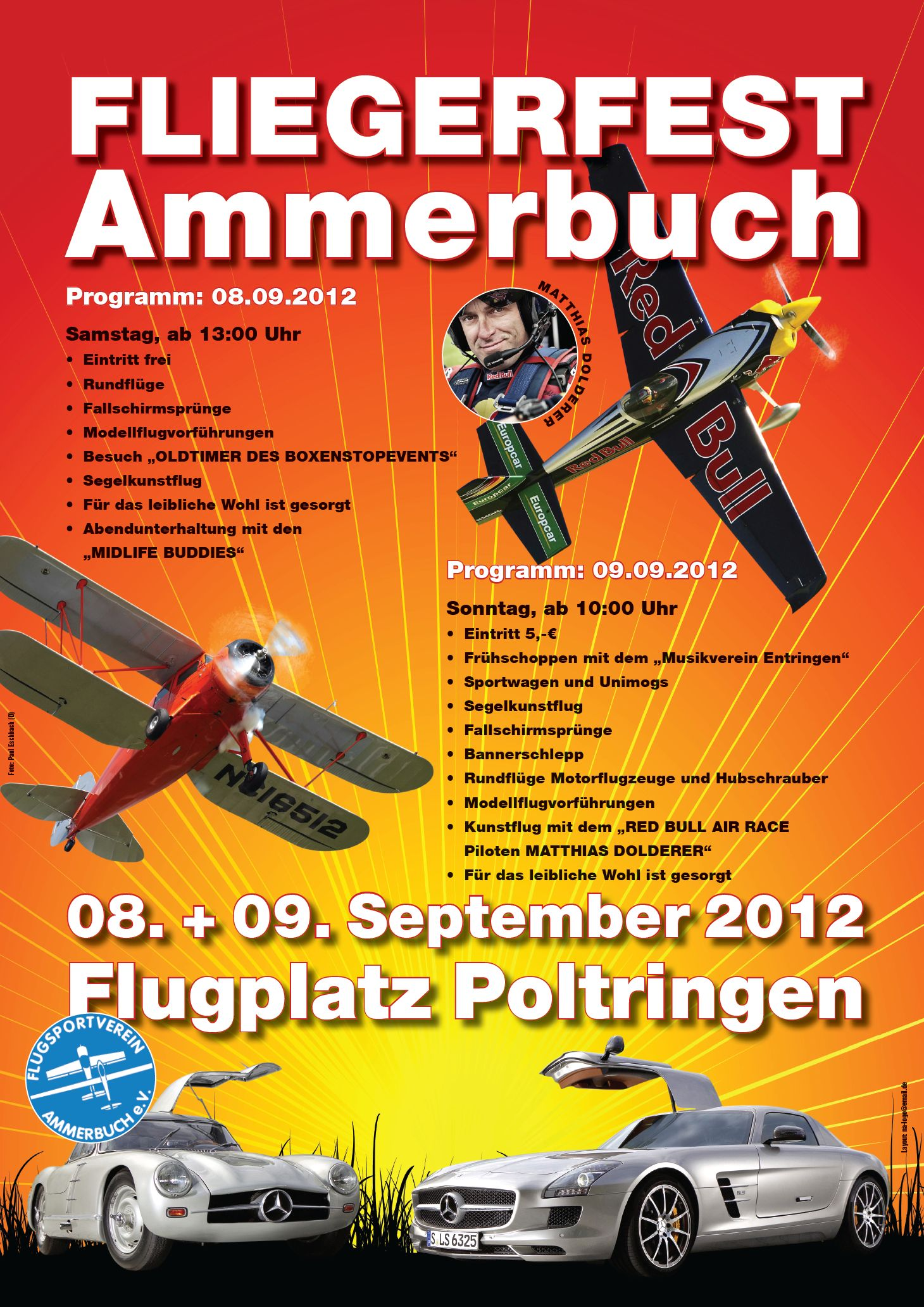 Fliegerfest Ammerbuch 2012