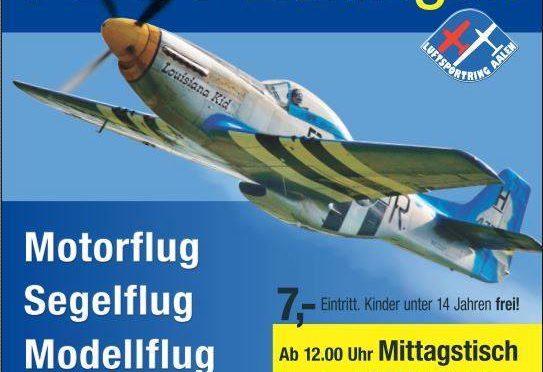 Flugplatzfest Luftsportring Aalen 03.09. – 04.09.2016
