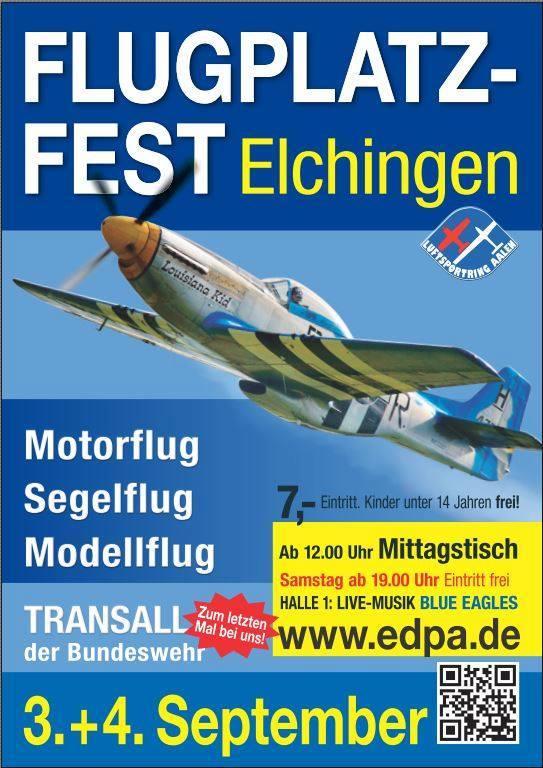luFlugplatzfest Elchingen 2016