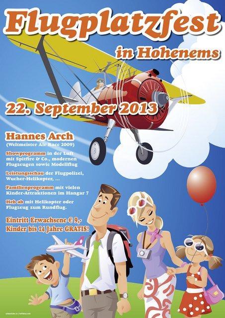 Flugplatzfest Hohenems 2013
