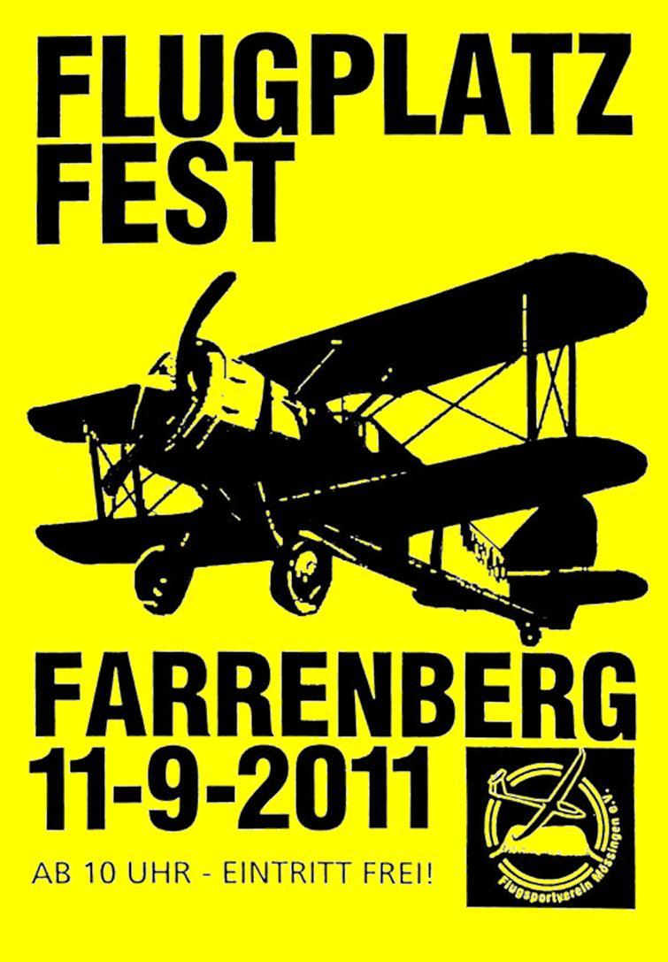 Flugplatzfest Farrenberg 2011