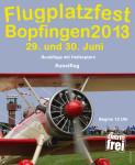 Flugplatzfest Bopfingen 29.06. – 30.06.2013