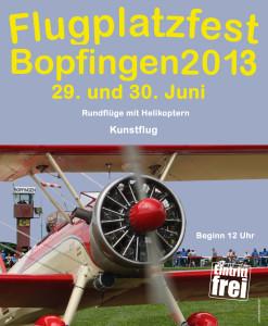 Flugplatzfest Bopfingen 2013