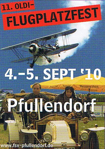 11. Oldie-Flugplatzfest in Pfullendorf