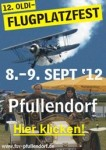 12. Oldi-Flugplatzfest Flugsportverein Pfullendorf e.V. 08.09. – 09.09.2012