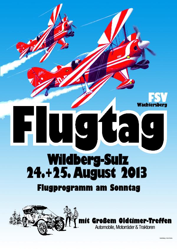 Flugtag FSV Wächtersberg e.V. 2013