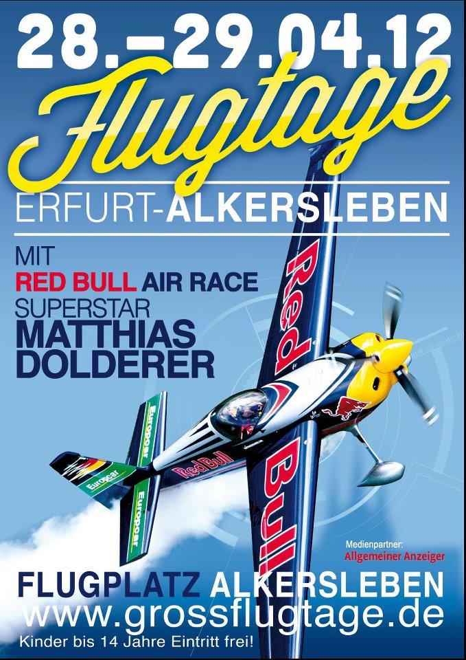Flugtage Alkersleben 2012