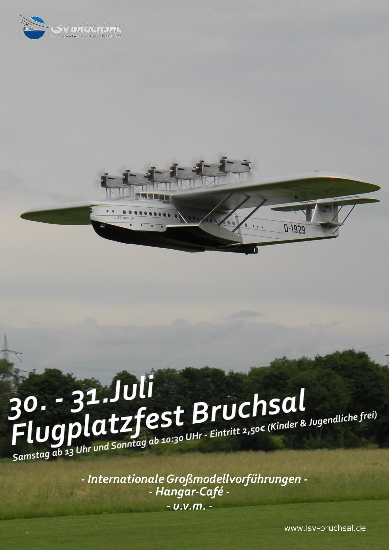 Flugplatzfest Luftsportverein (LSV) Bruchsal e.V.