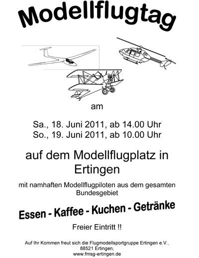 Modellflugtag Ertringen 2011