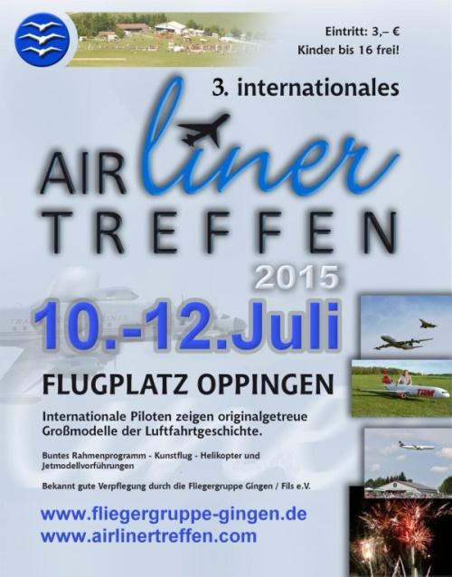 3. Airliner Treffen 10.07. - 12.07.2015