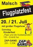 Flugplatzfest FSG Letzenberg-Malsch e.V.  20.07. – 21.07.2013