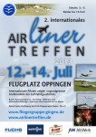 2. internationales Airlinertreffen Fliegergruppe Gingen/Fils e. V. 12.07.2013 – 14.07.2013