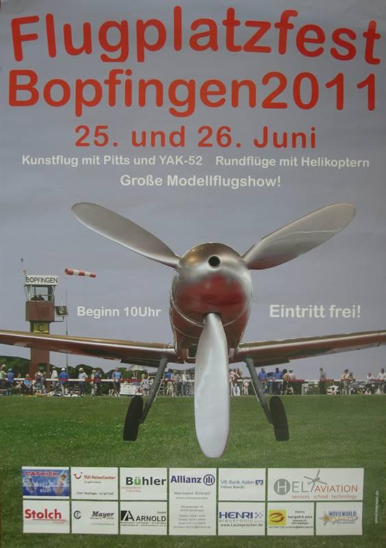 Flugplatzfest Bopfingen 2011