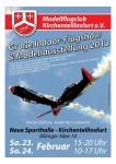 Große Indoor-Flugshow & Modellausstellung MFC-Kirchentellinsfurt 23.02. – 24.02.2013