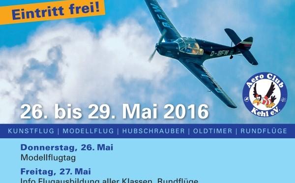 Kehler Flugtage 26.05. – 29.06.2016