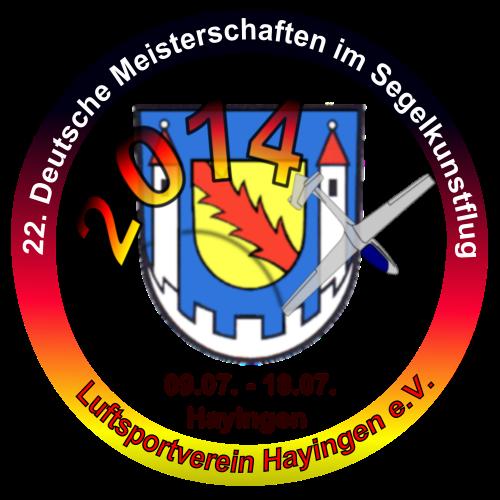 22. Deutschen Meisterschaften im Segelkunstflug 09. bis 18.Juli 2014 in Hayingen