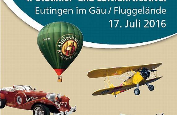 4. Oldtimer- und Luftfahrtfestival Eutingen (Gäu) 17.07.2016