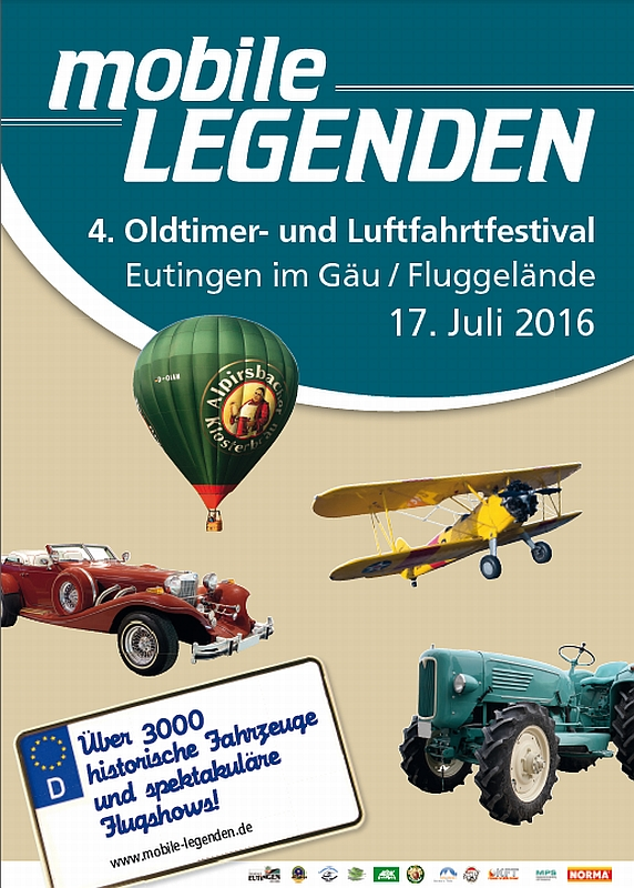 . Oldtimer- und Luftfahrtfestival Eutingen (Gäu) 17.07.2016