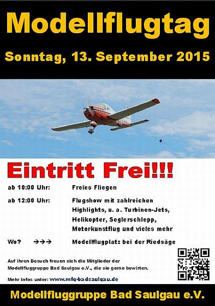 Modellflugtag Bad Saulgau 2015