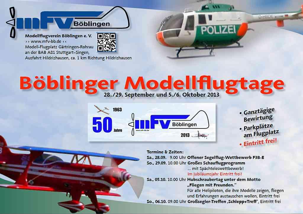 Modellflugtage Böblingen 2013