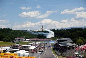 Hannes Arch performs during the Austrian Formula One Grand Prix at the Red Bull Ring in Spielberg, Austria on June 22nd, 2014 // Markus Kucera/Red Bull Content Pool