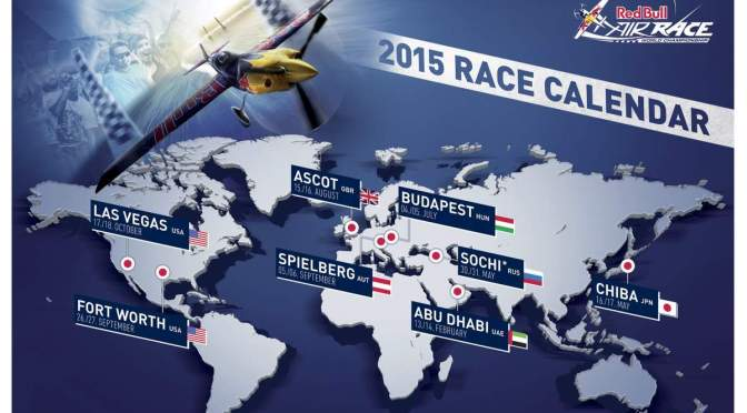 Calendar and Locations for Red Bull Air Race 2015