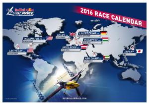 Kalender: Red Bull Airrace 2016