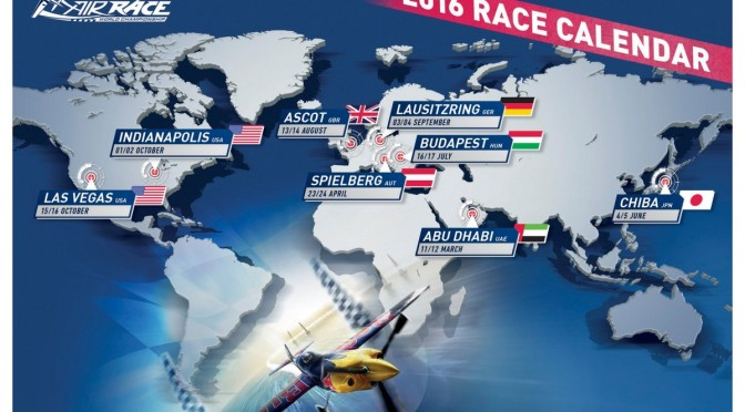 Red Bull Air Race Las Vegas 15.10. – 16.10.2016