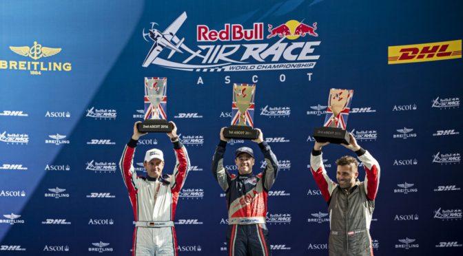"""Matthias Dolderer Zweiter beim Red Bull Air Race in Ascot """"Das gibt Selbstvertrauen für das nächste Rennen auf dem Lausitzring"""""""